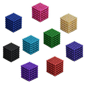 Cheap Neodymium 5mm 216PCS Magnetic Neocube Ball Puzzle Toy pictures & photos