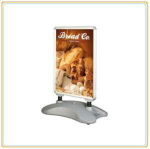Heavy Duty Double Poster Holder with Durable Water Tank (E06P7) pictures & photos