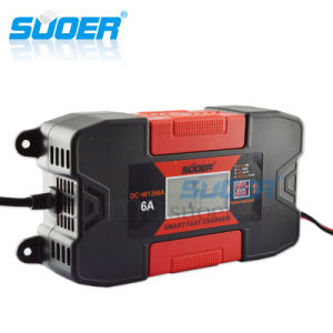 Suoer Smart Automatic Fast Battery Charger 12V 6A Solar Car Battery Charger (DC-W1206A) pictures & photos