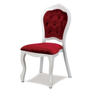 Hotel Classy Aluminum Banquet Dining Wedding Chairs for Restaurant and Party pictures & photos