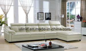 Elegant Sofa Furniture Big U Shaped Living Room Leather Sofa (HX FZ025)