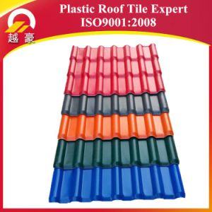 Long Life Span ASA Synthetic Resin Roof Tiles