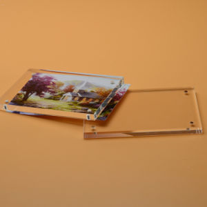 Acrylic Photo Frame Magnetic/Sexy Acrylic Photo Frame pictures & photos