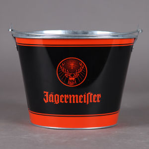 Tin Stainless Ice Bucket with Handle for Beer Cooler Pail pictures & photos