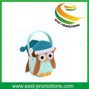Custom Cartoon Felt Handle Bag pictures & photos