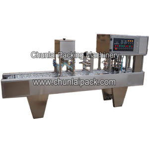 Automatic Cup Filler Sealing Machine pictures & photos