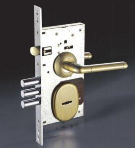 Iron/Zinc Safe Door/Security Door Lock (804) pictures & photos