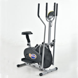 2in1 Exercise Machine Elliptical Trainer Stationary Bike