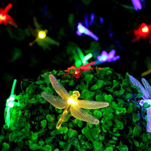 Colorful Christmas LED Solar Dragonfly String Light Fairy Holliday Outdoor Xmas Party Garden Path Decoration pictures & photos