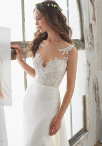 2017 off Shoulder Lace Bridal Wedding Dresses Wd503 pictures & photos