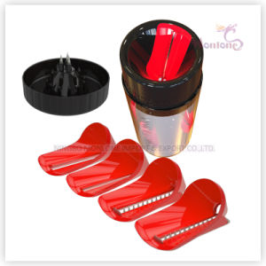 Fruit Vegetable Tool Vegetable Chopper Slicer Set with Interchangeable Blade pictures & photos