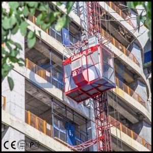 Gaoli Sc200/200 Ce and GOST Construction Hoist Elevator Machinery pictures & photos