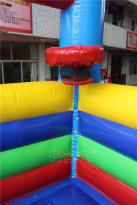 Commercial Inflatable Bouncy Castle with Slide Chb219 pictures & photos