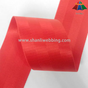 2.5 Inch Red Nylon Seat Belt Webbing pictures & photos