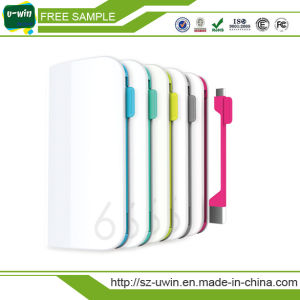 OEM Factory Ultra Slimpower Bank 10000mAh Portable Battery Charger for iPhone pictures & photos