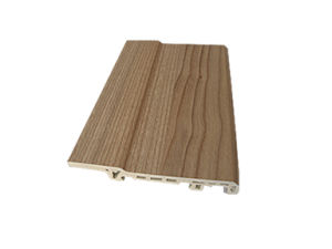 WPC Moisture-Proof PVC Foamed Skirting (PT-8012B) pictures & photos