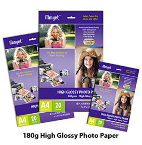180g High Glossy Cast Coated Inkjet Photo Paper