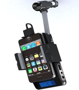 Universal Car Fm Transmitter Charger Dock for iPod iPhone Cellphone DVD CD All Media Player F11