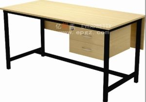 Wood and Metal Teacher Table Desk, Teacher Table for Sale pictures & photos