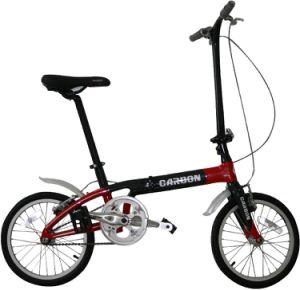 Carbon Fiber Folding Bike/City Bicycle pictures & photos