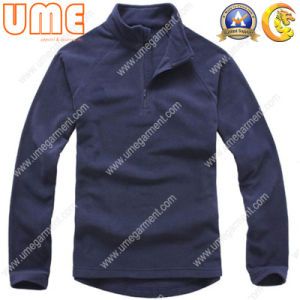 Men′s Hoodies with 100%Polyester Fleece with Two Faces Blushed (UMH17)