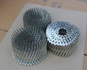 Galvanized Coil Nail with Twisted Shank for Making Pallets pictures & photos