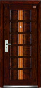 Steel Wooden Door (LT-303) pictures & photos