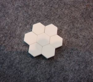 Hexagonal Alumina Ceramic Tile & Small Tile pictures & photos