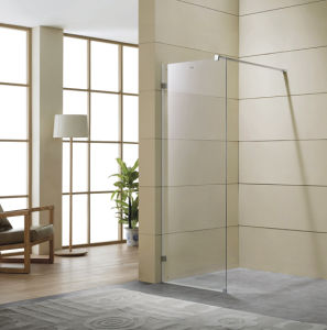 Single Panel Tempered Glass Shower Screen/ Single Glass Shower Screen/ Single Glass Shower Panel pictures & photos