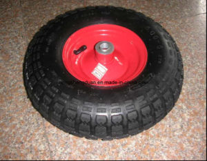 Rubber Wheel (400-6) pictures & photos