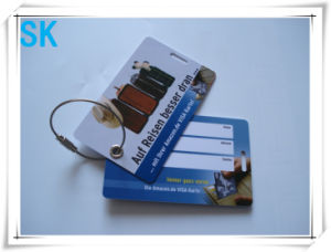 2014 Fashion PVC Hang Tags for Luggage Cases