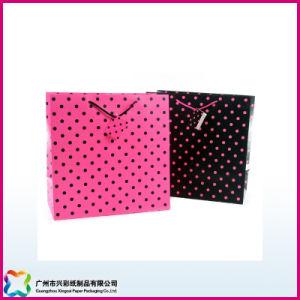 OEM Custom Paper Gift Bag/Shopping Bag/Packaging Bag with Handle for Christmas pictures & photos