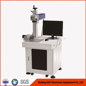 Metal Nonmetal Fiber Optical Laser Marking Machine pictures & photos
