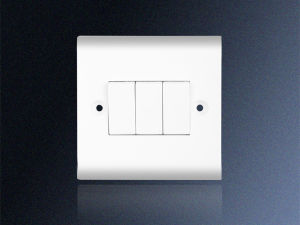 3 Gang 1 Way Electrical Switch