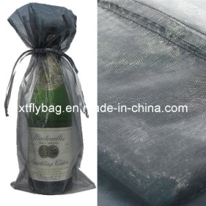 Silver Bottle & Organza Favor Wine Bags Fly-Wb-001 pictures & photos