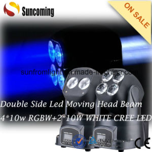 New Party Lighting Popular Two-Sided Beam Mini LED Moving Head pictures & photos