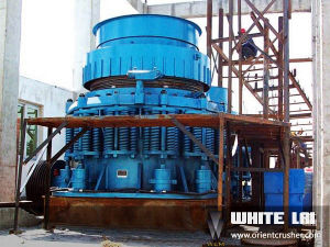 White Lai Stone Rock Crushing Machine Cone Crusher Wlc1160 pictures & photos