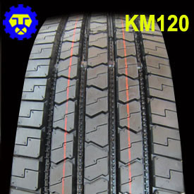 225/75r17.5 245/70r19.5 Km120 Truck Tyre pictures & photos