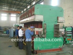 Jaw Type Rubber Curing Press pictures & photos