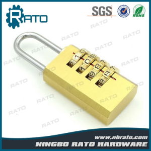 Top Security Digital Brass Combination Padlock pictures & photos