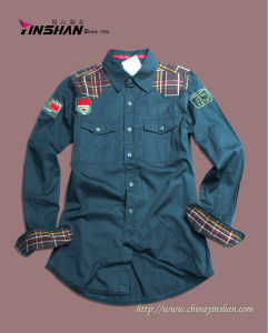 Boy′s Fashion Shirt / Boy′s Cotton Shirt