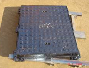 Rectangle Ductile Iron Manhole Cover with Frame with SGS& BV pictures & photos