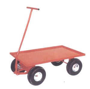 flatbed hand trailer(TC1821) pictures & photos