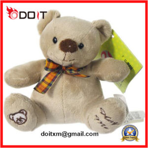 Children Toy Stuffed Soft Teddy Plush Bear with Embroidery Paw pictures & photos