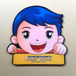 Irregular Shaped Promotion Gift for Logo Printed Coaster pictures & photos