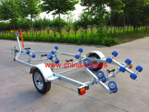 Single Boat Trailer with Curved Rollers Tr0229 pictures & photos