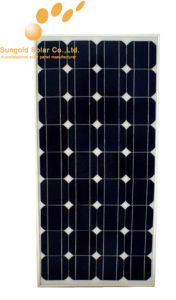 2014 Newest Product Hot Sale 130W Monocrystalline Solar Panel