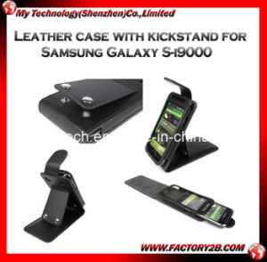Leather Case With Kickstand for Samsung Galaxy (MSGS -5)