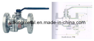 API Cast Steel Floating Type Ball Valve pictures & photos
