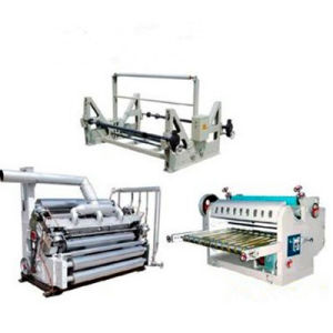 Dwj Series Single Face Corrugated Cardboard Machine pictures & photos
